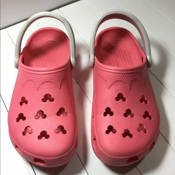 ff2631f6ef3207 CROCS Shoes - Disney CROCS Sandals Womens Size 6-7 Mens 4-5 Clog